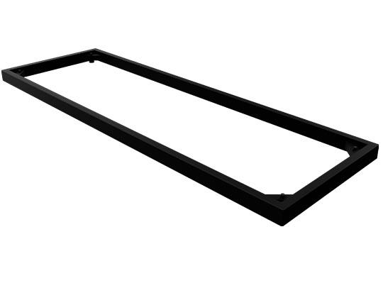CHOICE-Regal-Stahlsockel-schwarz-sockel-massiv-metall-40mm