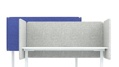 Akustik-Tischtrennwände DESK