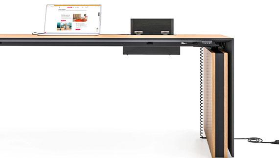 MOTION EXECUTIVE Schreibtisch Elektrifizierung