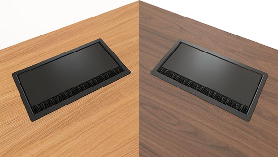 MOTION EXECUTIVE Schreibtisch Steckdosenleiste 3 Steckdosen USB