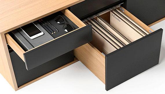 MOTION EXECUTIVE Schreibtisch Sideboard Schublade Hängeregister Einsatz