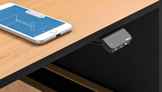 MOTION EXECUTIVE Schreibtisch Steuerung Bluetooth