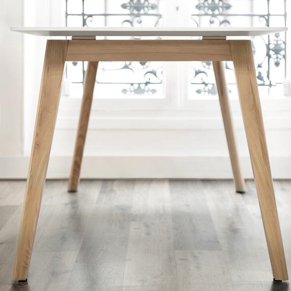 Tischplatte-NOVA-WOOD-Gestell