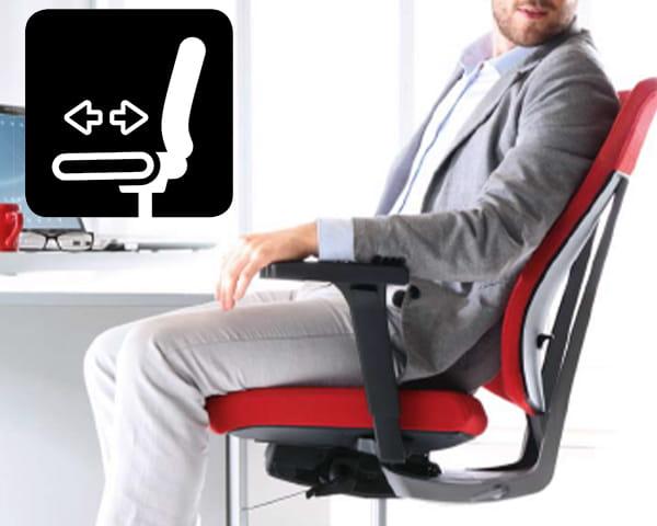 profim XENON Sitzfiefeneinstellung