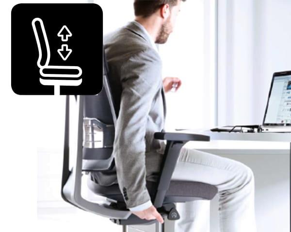 profim XENON Sitzhoeheneinstellung