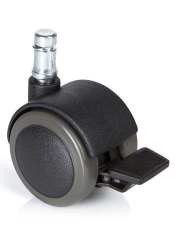 Hartbodenrollen | Für Bürostühle (5 Stück), Ø 11 mm / 50 mm