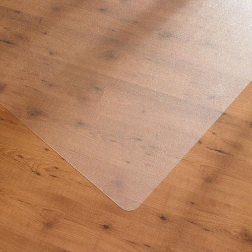 Bodenschutzmatte HAMBURG 120 x 150 cm glatt Hartböden