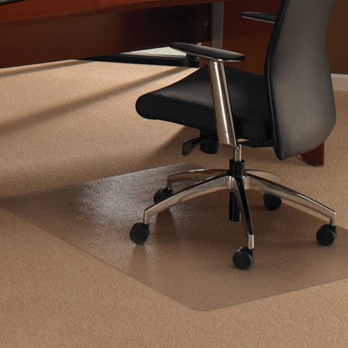 Bodenschutzmatte BREMEN 120x150 cm für Teppichböden