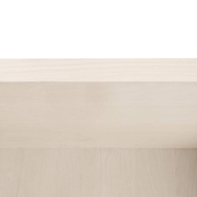 Regalschrank UNI 3 OH, (BxH) 800 x 1.143 mm, Ahorn – Bild 4