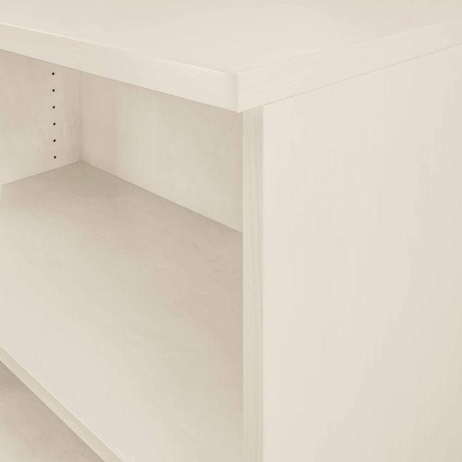 Regalschrank UNI 3 OH, (BxH) 800 x 1.143 mm, Ahorn – Bild 5