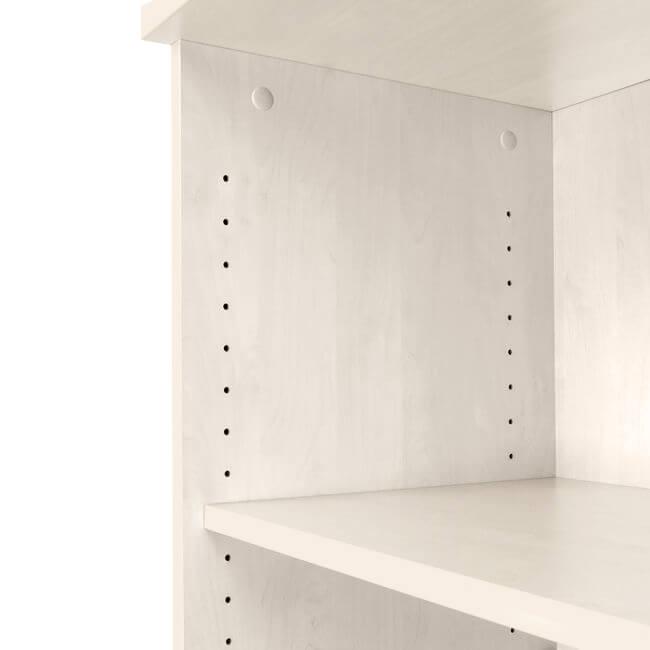 Regalschrank UNI 3 OH, (BxH) 800 x 1.143 mm, Ahorn – Bild 8