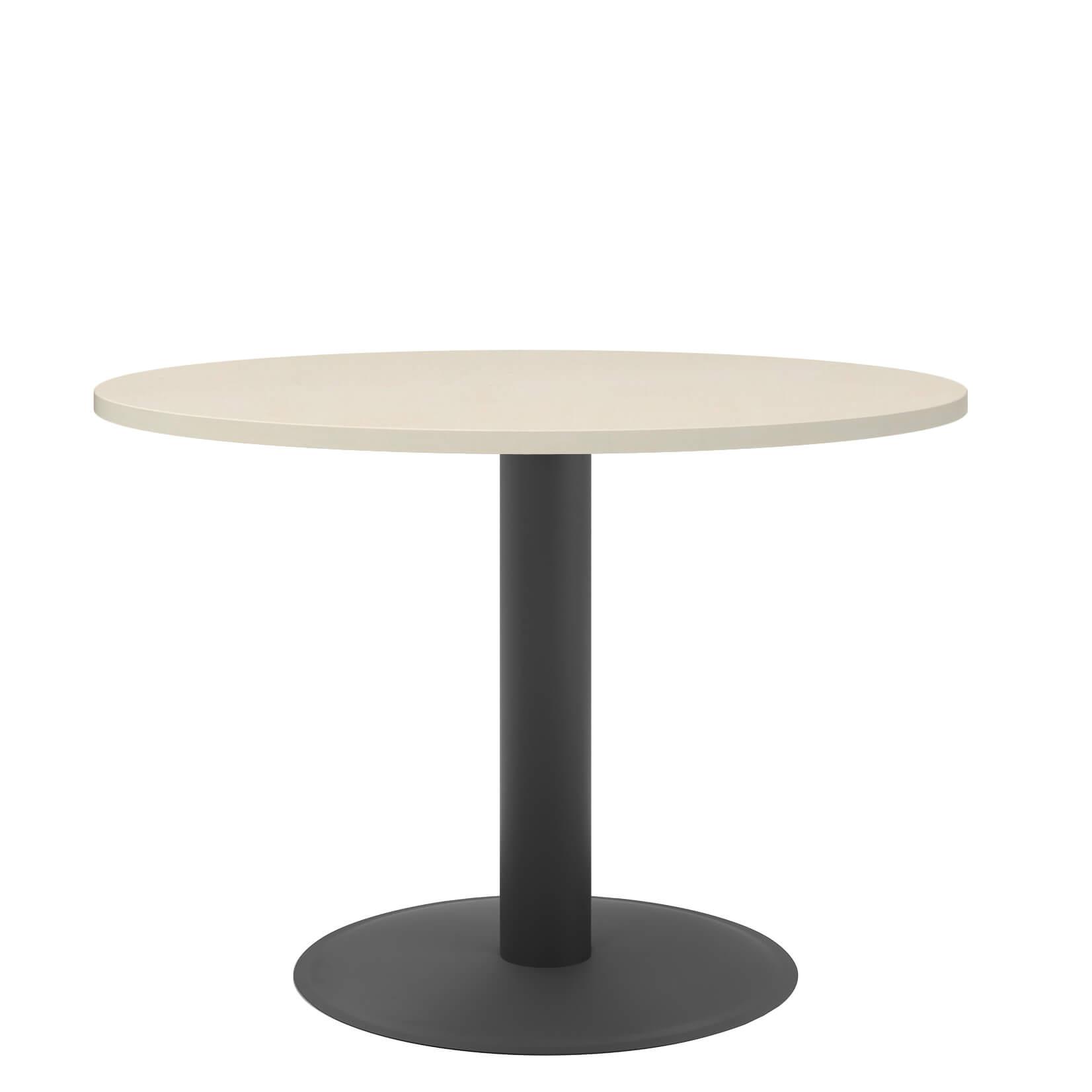 OPTIMA runder Besprechungstisch Esstisch Küchentisch Tisch Ahorn Rund Ø 100 cm