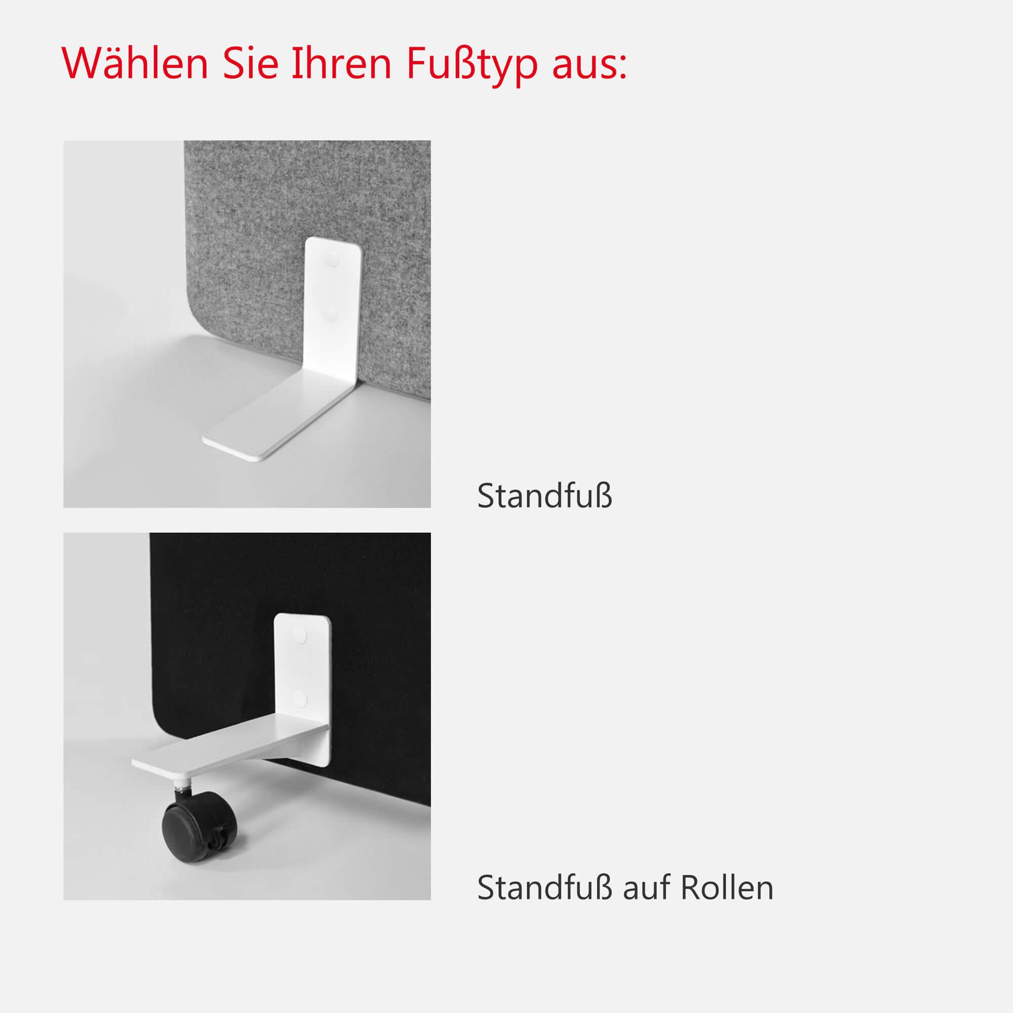 Stellwand Flexible Trennwand FREE STANDING Sichtschutz Lärmschutz Schallabsorbierend Raumteiler Akustik LUCIA