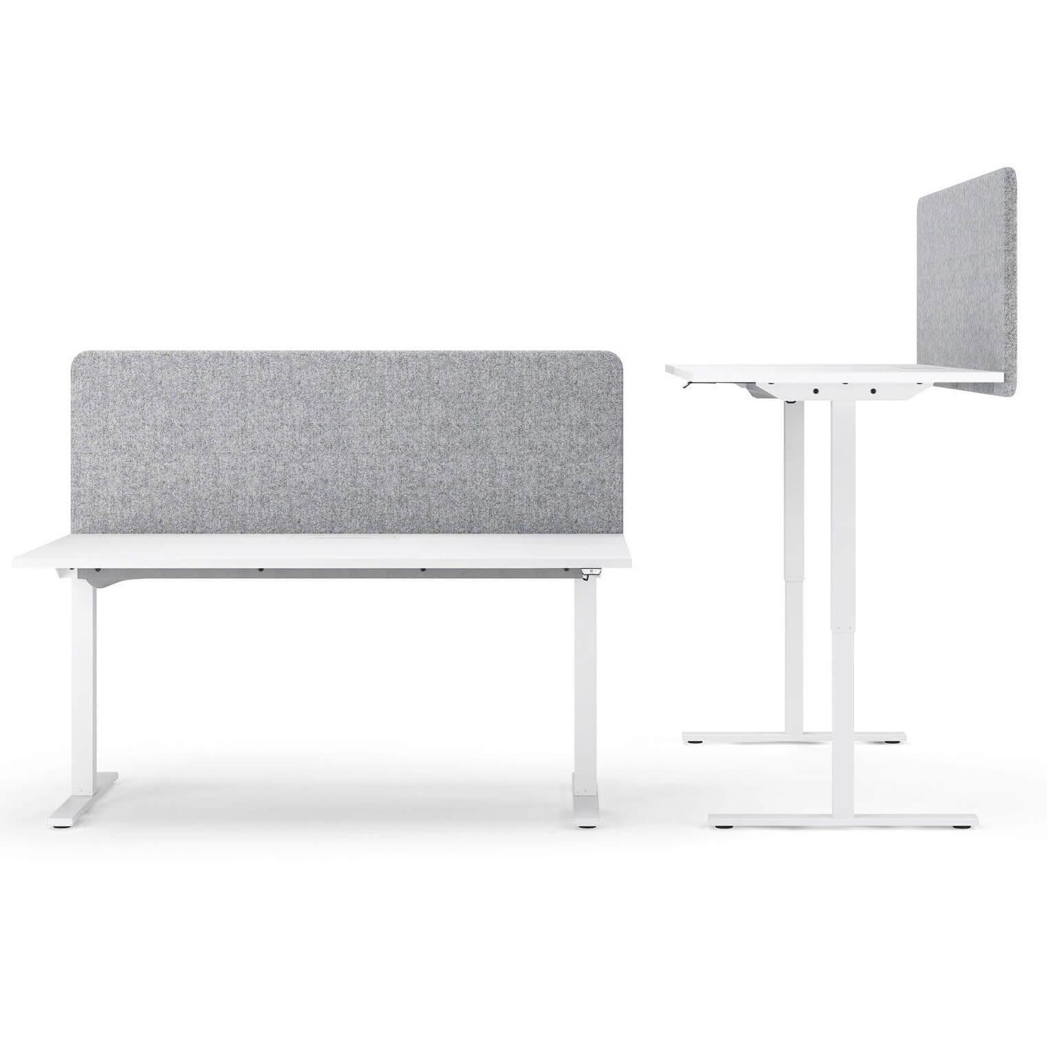 Akustik Tischtrennwand Sichtschutz Lärmschutz Schallabsorbierend Raumteiler TOP