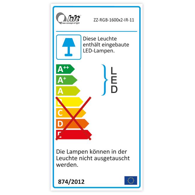NOVUM Empfangstheke | LED-Beleuchtung optional, 2000 mm, Weiß