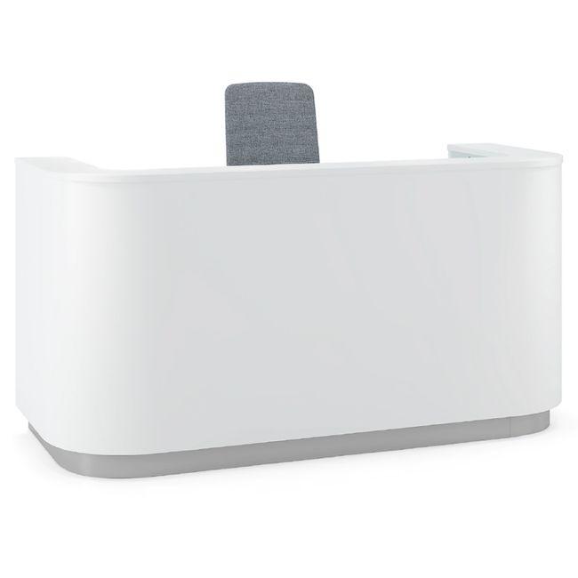 COSY Empfangstheke | 2000 x 800 mm, Weiß