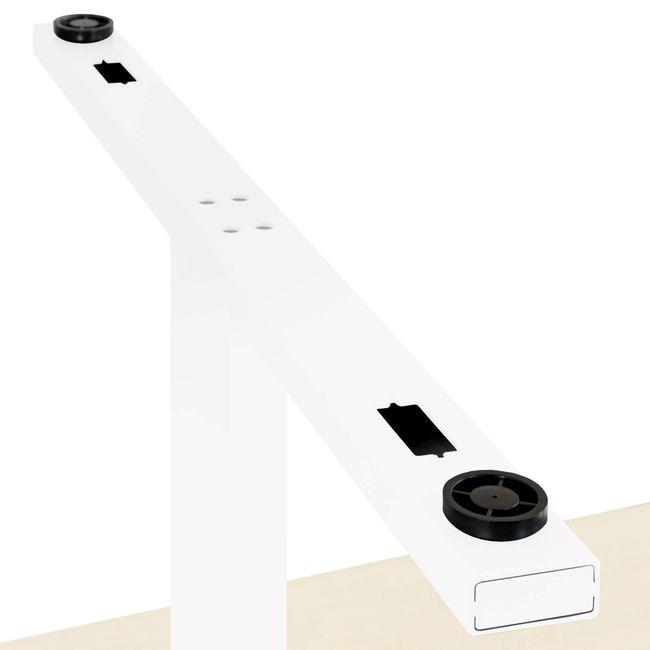 EASY Konferenztisch | Bootsform, 1800 x 1000 mm (6 - 8 Personen), Ahorn