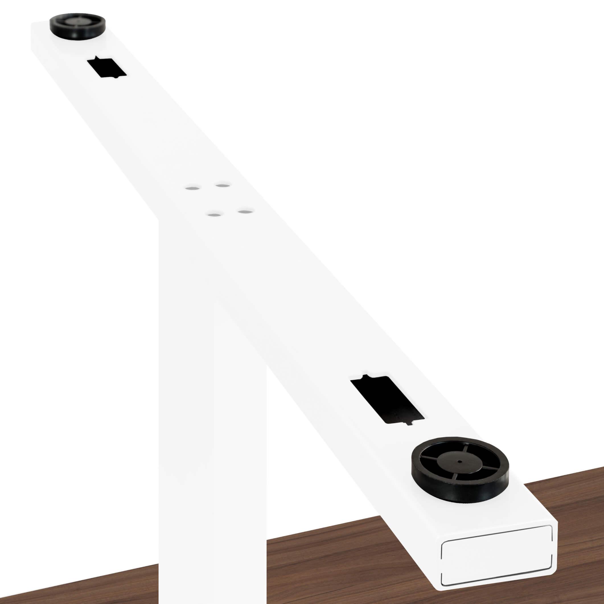 EASY Konferenztisch Bootsform 180x100 cm Nussbaum Besprechungstisch Tisch