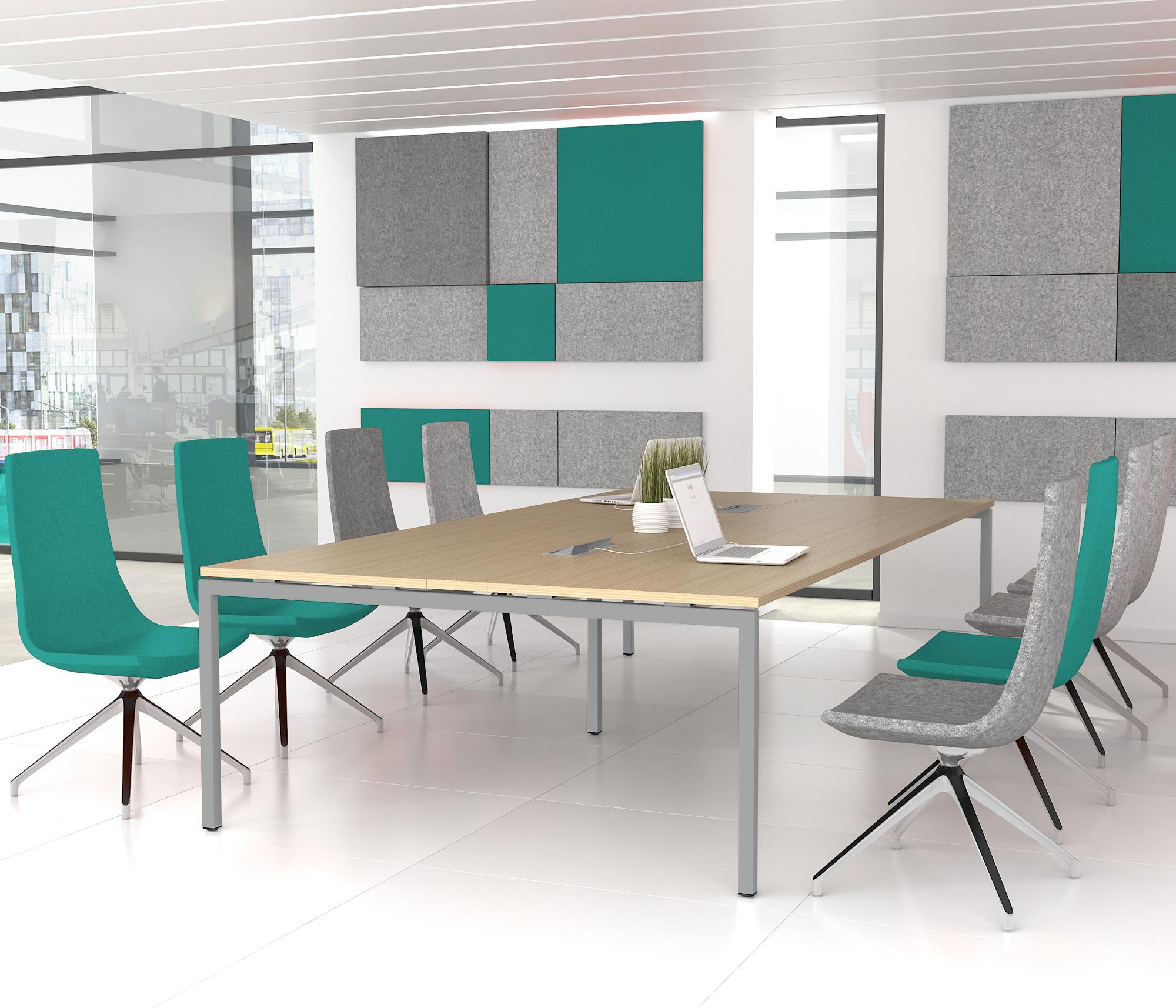 konferenztisch nova x mm eiche elektrifizierung 10 12 personen b rotische. Black Bedroom Furniture Sets. Home Design Ideas