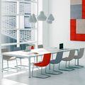 NOVA Konferenztisch | Elektrifiziert, 3200 x 1640 mm (10 - 12 Personen), Weiß
