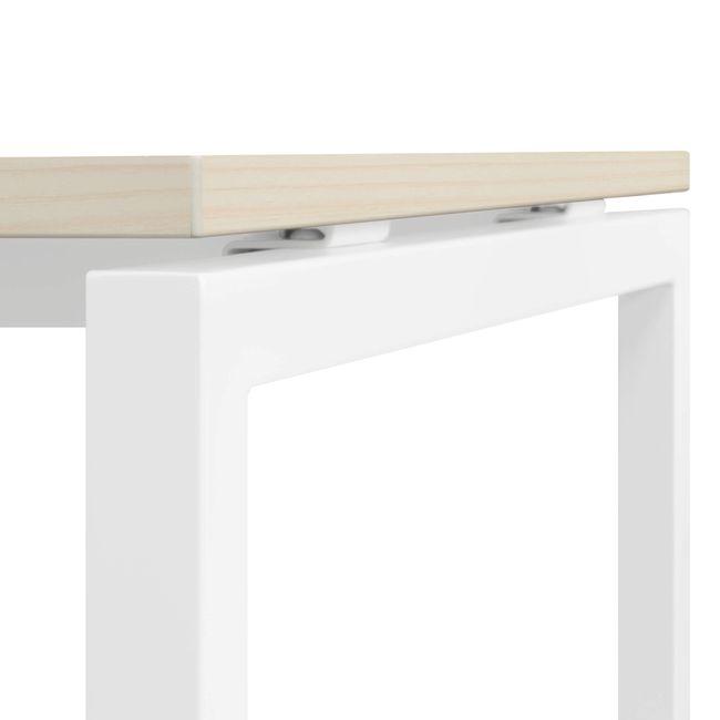Schreibtisch NOVA U 1.800 x 800 mm Ahorn – Bild 6