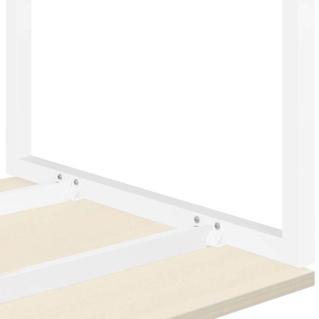 Schreibtisch NOVA U 1.600 x 800 mm Ahorn – Bild 8