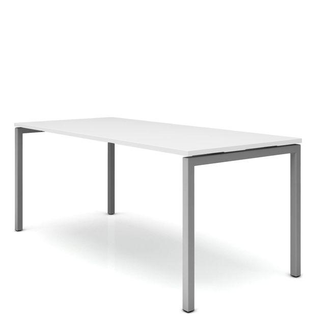 Schreibtisch NOVA U 1.800 x 800 mm Weiß – Bild 12