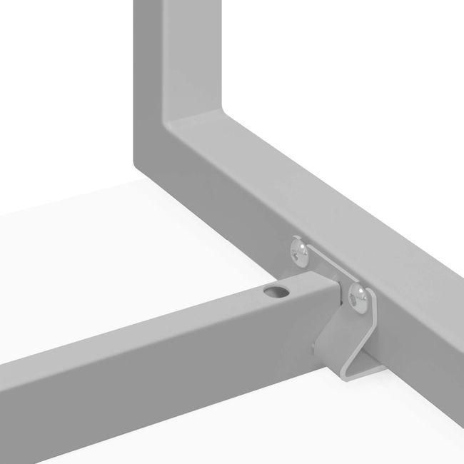 Schreibtisch NOVA U 1.800 x 800 mm Weiß – Bild 17