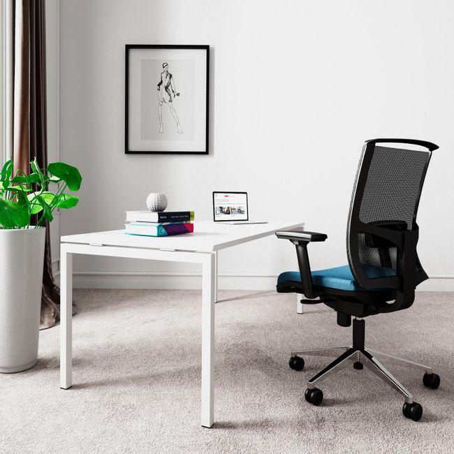 NOVA U Schreibtisch   1800 x 800 mm, Weiß
