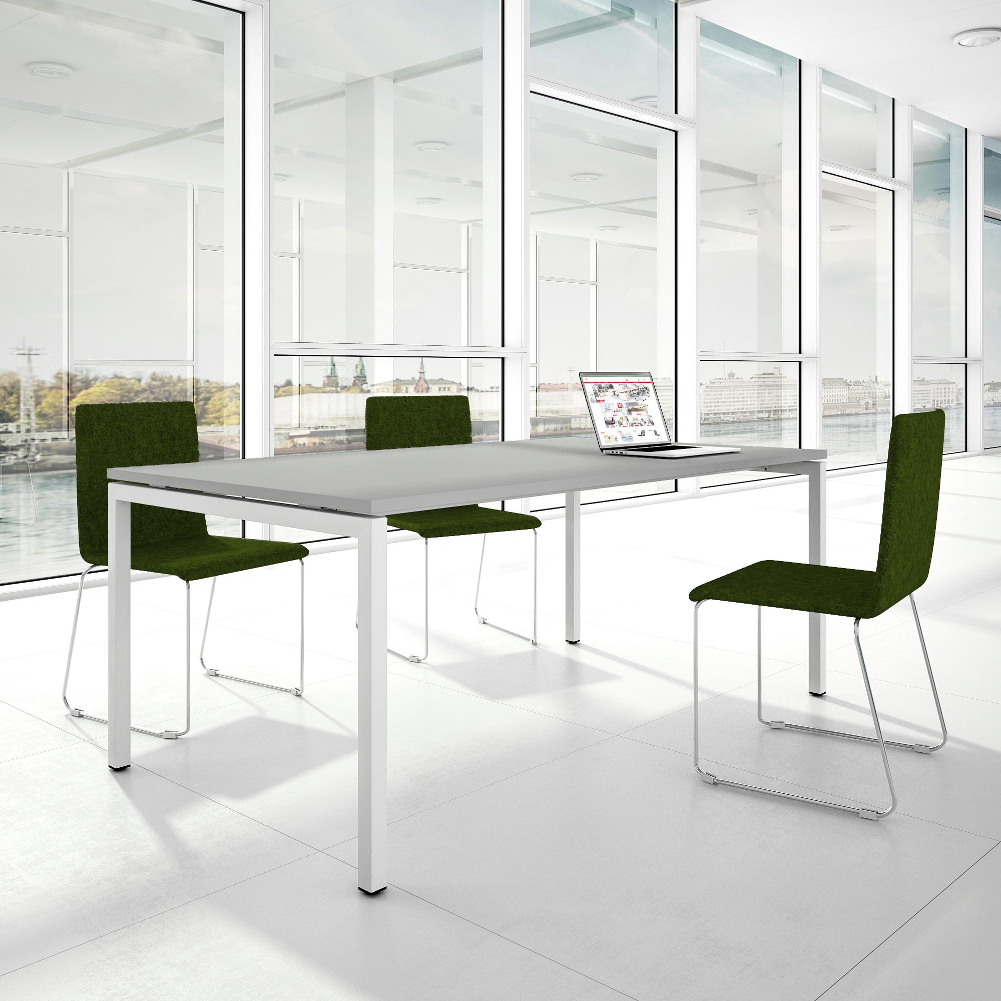 PROFI Besprechungstisch 200x100cm NOVA U 4-8 Pers. Konferenztisch Meetingtisch