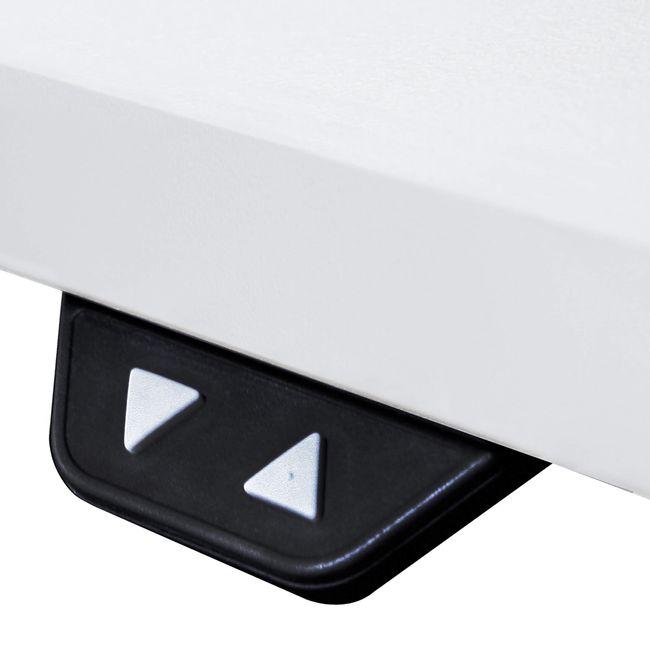 Motortischgestell EASY Motortisch Silber 2 LINAK-Motoren 1.200 - 1.800 mm Breite – Bild 4