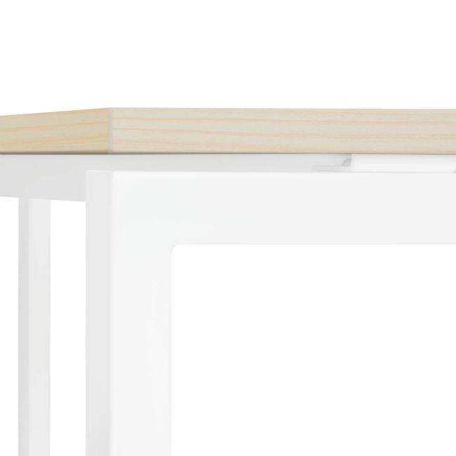Winkelschreibtisch links NOVA 1.800 x 1.200 mm Ahorn – Bild 7