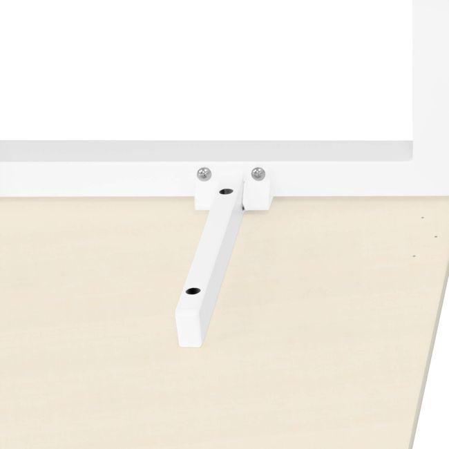 Winkelschreibtisch links NOVA 1.800 x 1.200 mm Ahorn – Bild 11