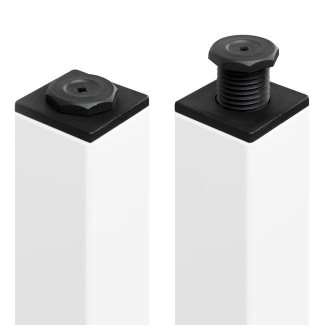 Winkelschreibtisch links NOVA 1.800 x 1.200 mm Ahorn – Bild 12