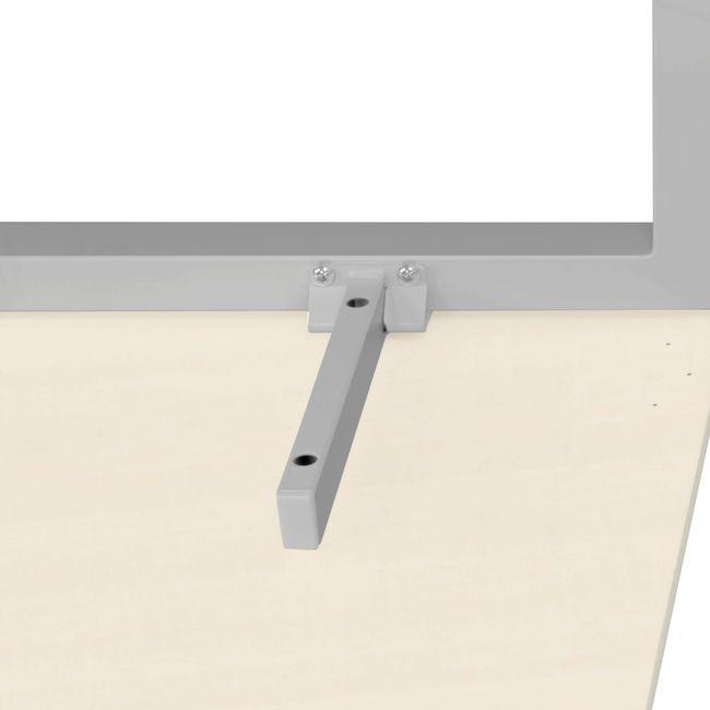 Winkelschreibtisch links NOVA 1.800 x 1.200 mm Ahorn – Bild 19