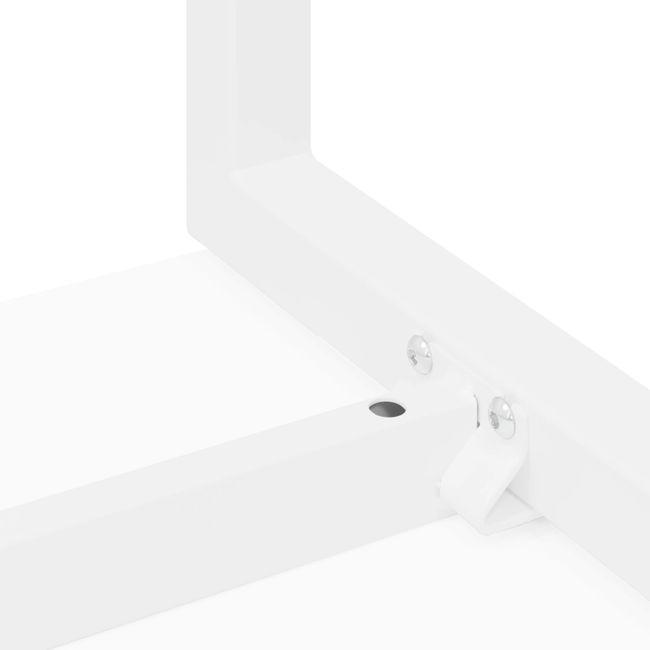 Winkelschreibtisch links NOVA 1.800 x 1.200 mm Weiß – Bild 10
