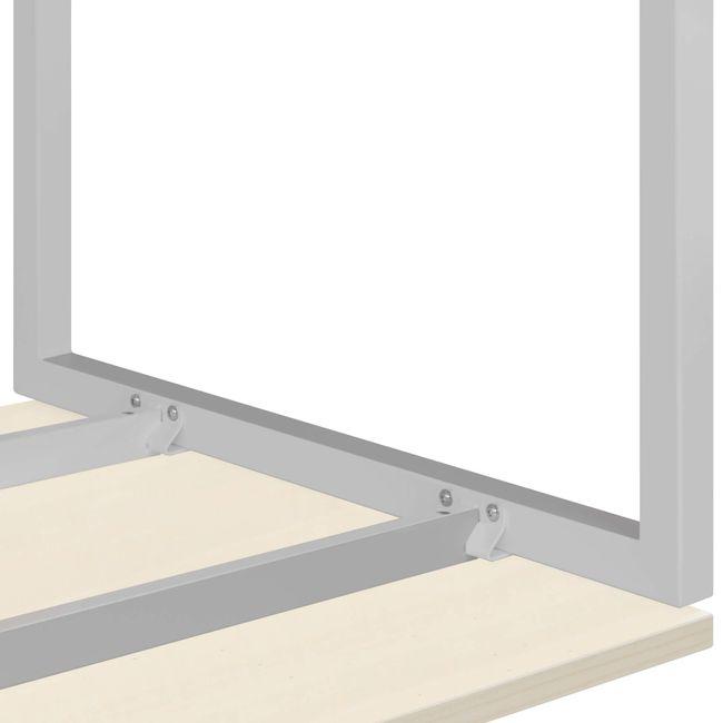 Winkelschreibtisch rechts NOVA 1.800 x 1.200 mm Ahorn – Bild 16