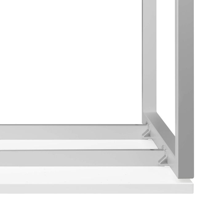 Winkelschreibtisch rechts NOVA 1.800 x 1.200 mm Weiß – Bild 17