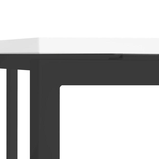 Winkelschreibtisch rechts NOVA 1.800 x 1.200 mm Weiß – Bild 23