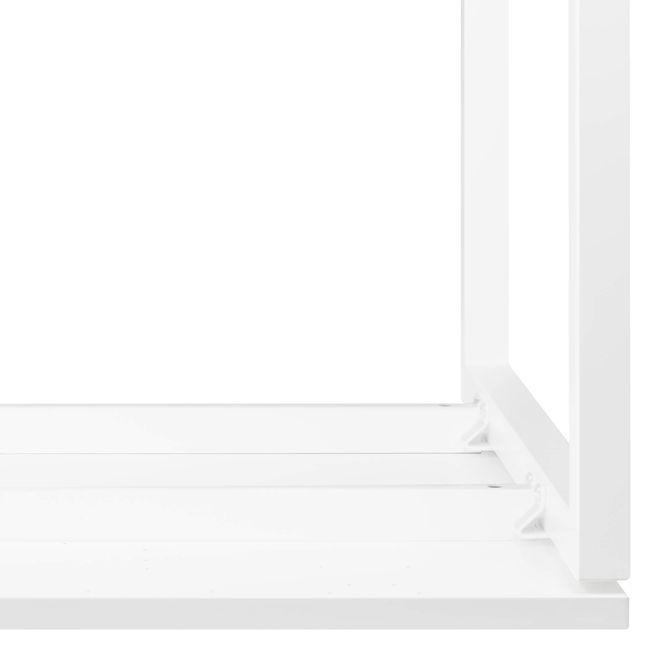 Winkelschreibtisch rechts NOVA 1.800 x 1.200 mm Weiß – Bild 9