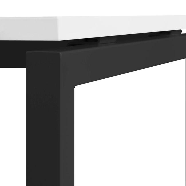 2er Team-Schreibtisch NOVA U 1.600 x 1.640 mm Weiß – Bild 21