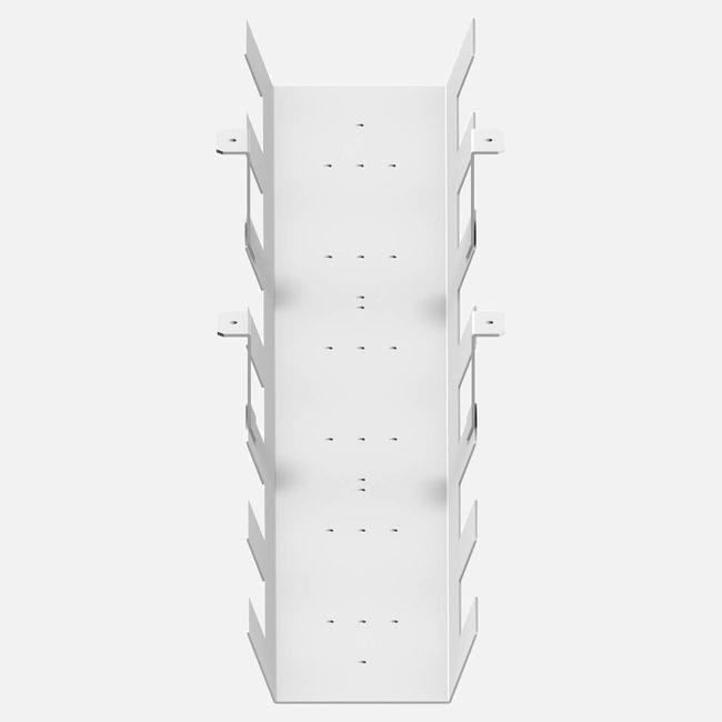 Kabelwanne UNI 1.080 x 180 mm Weiß – Bild 2
