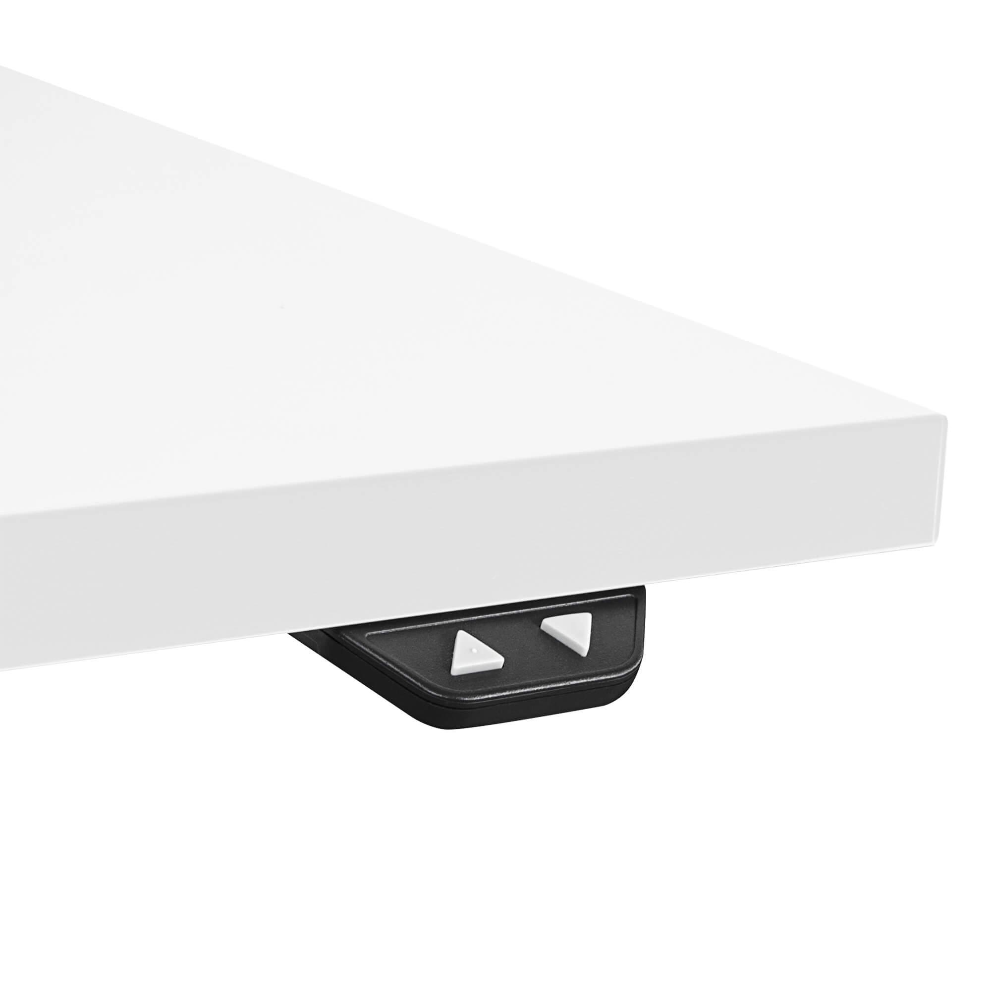 PROFI elektrisch höhenverstellbar Schreibtisch EASY 180x80cm Motortisch LINAK