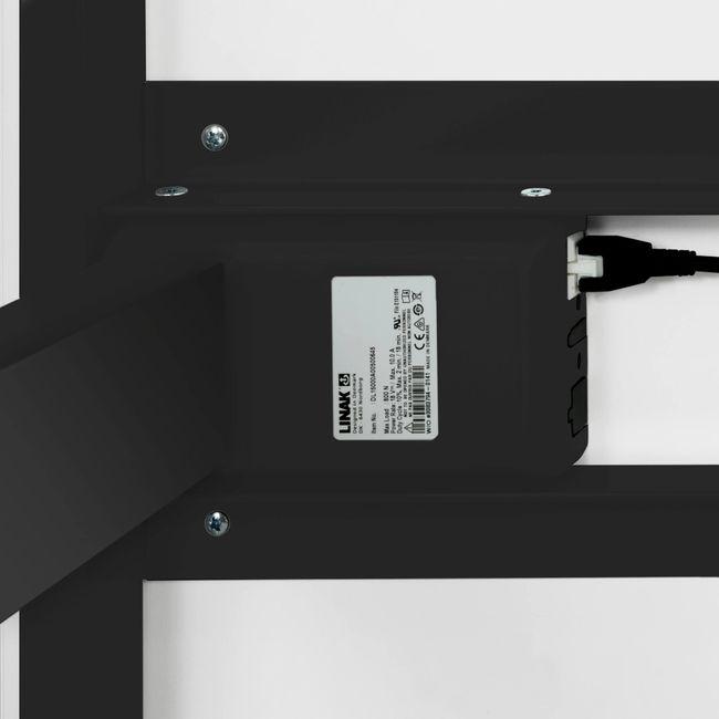 Motor Schreibtisch elektrisch höhenverstellbar EASY 1.800 x 800 mm Weiß – Bild 20