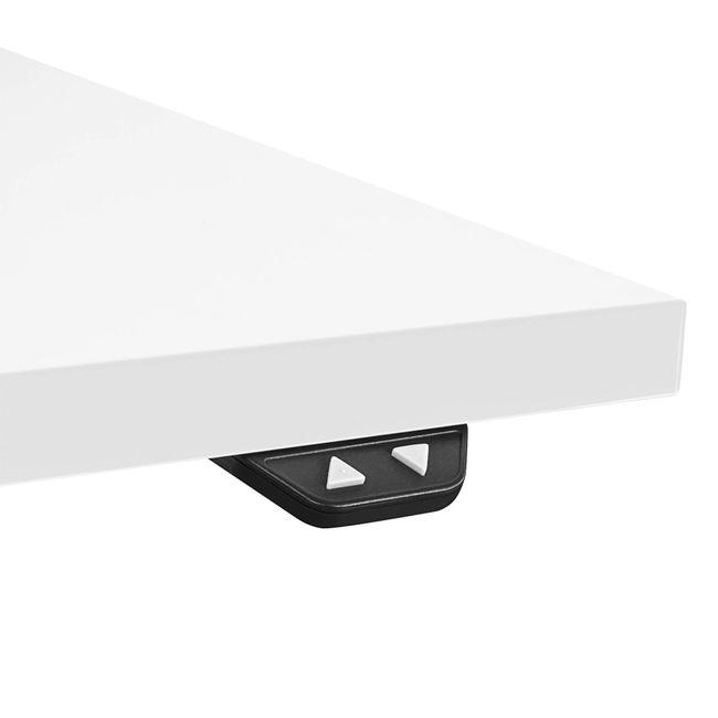 Motor Schreibtisch elektrisch höhenverstellbar EASY 1.600 x 800 mm Weiß – Bild 17