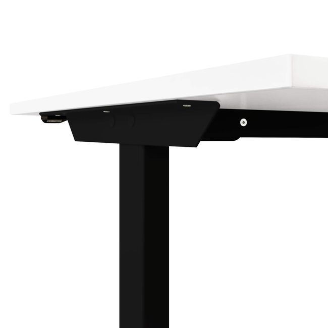 Motor Schreibtisch elektrisch höhenverstellbar EASY 1.600 x 800 mm Weiß – Bild 18