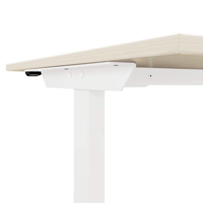 EASY Schreibtisch | Elektrisch höhenverstellbar, 1600 x 800 mm, Ahorn