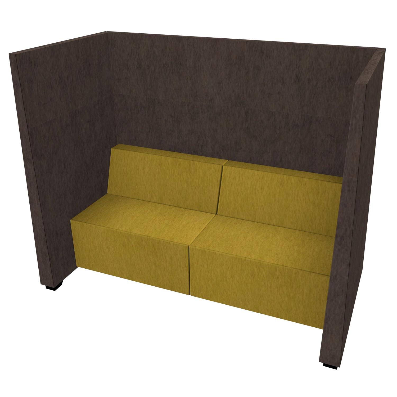 Sofa, Lounge, Ruhezone, Akustik-Schallschutz, Schallabsorber JAZZ Silent-Seating