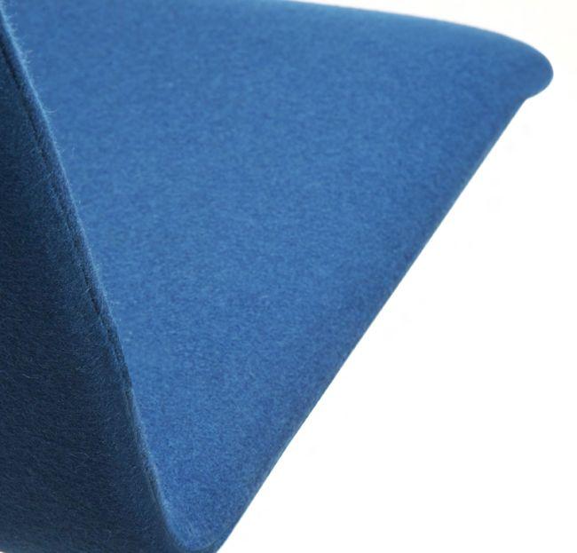Besucherstuhl MOON gepolsteter Sitzfläche Kufengestell – Bild 6
