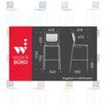 Barhocker WAIT gepolsterter Sitzfläche